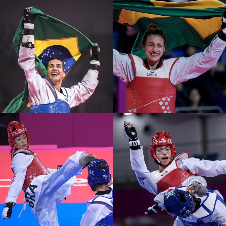Brasil convoca para pré-olímpico de taekwondo, e medalhista da Rio 2016 fica fora de Tóquio 2020