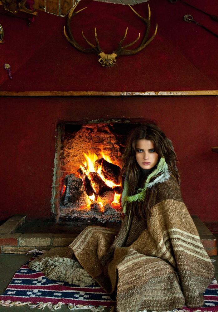 As principais tendências do inverno 2018 (Foto:  Isabeli Fontana em foto de Jacques Dequeker (Foto: Arquivo Vogue))