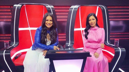 Simone & Simaria comentam inspirações para looks do 'The Voice Kids'