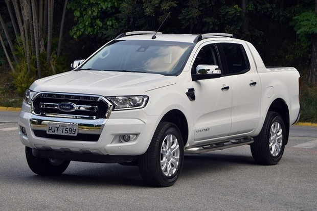 Ford Ranger Limited (Foto: Divulgação)