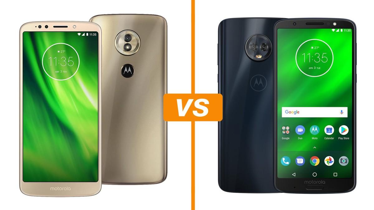 c02d7cdbb Moto G6 Play vs Moto G6 Plus  conheça os celulares da Motorola ...