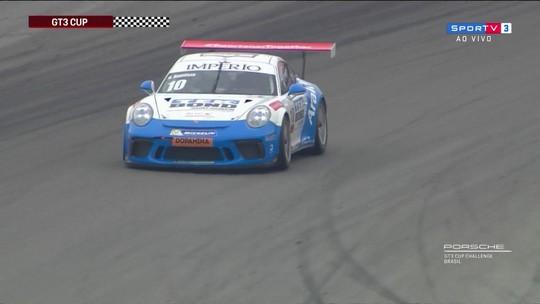 Adalberto vence 9ª etapa da GT3 Cup 4.0 da Copa Porsche