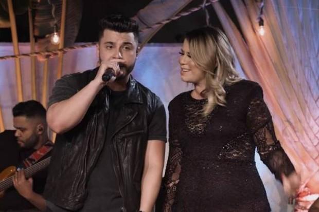 Marília Mendonça e Murilo Huff (Foto: Reprodução/YouTube)