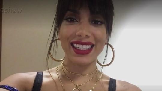 Anitta conta desejos para o ano novo: 'Muito amor'
