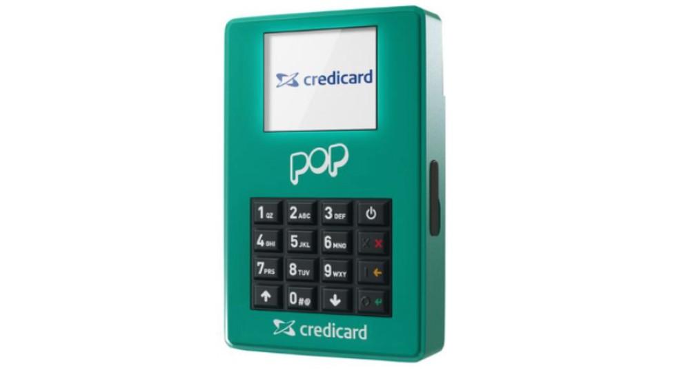 Máquina de pagamentos Pop promete enviar dinheiro em até dois dias úteis para compras no crédito (Foto: Divulgação/Credicard)