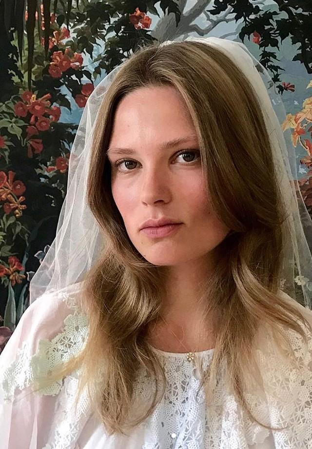 O casamento de Caroline Brasch Nielsen e Frederik Bille Brahe (Foto: Instagram Elite Models/ Reprodução)