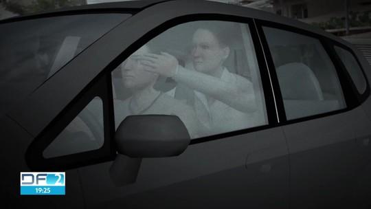 Mulher leva murros de assaltante, quebra dentes e carro é roubado no DF