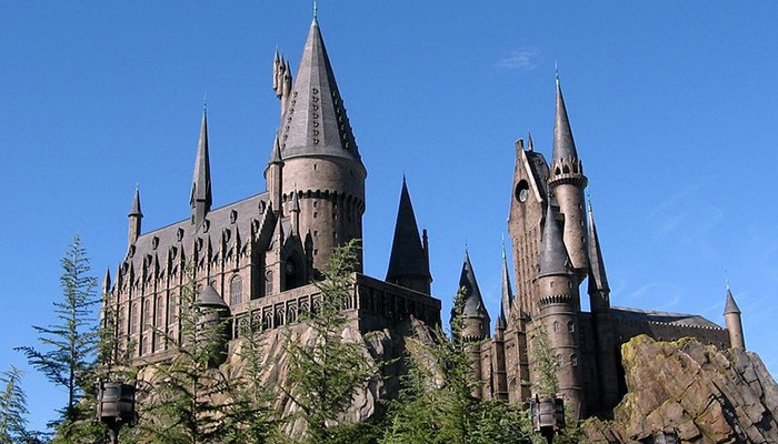 O castelo de Hogwarts do The Wizarding World of Harry Potter (Foto: Wikimedia Commons)