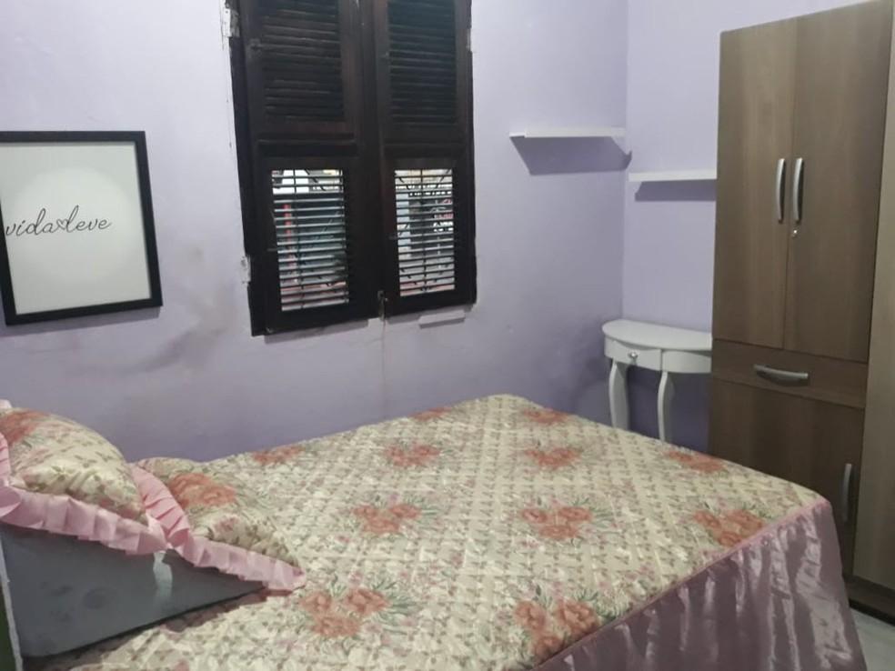 Jacinta ganhou, ainda, quadros nas paredes do cômodo — Foto: Derlânio Heulle