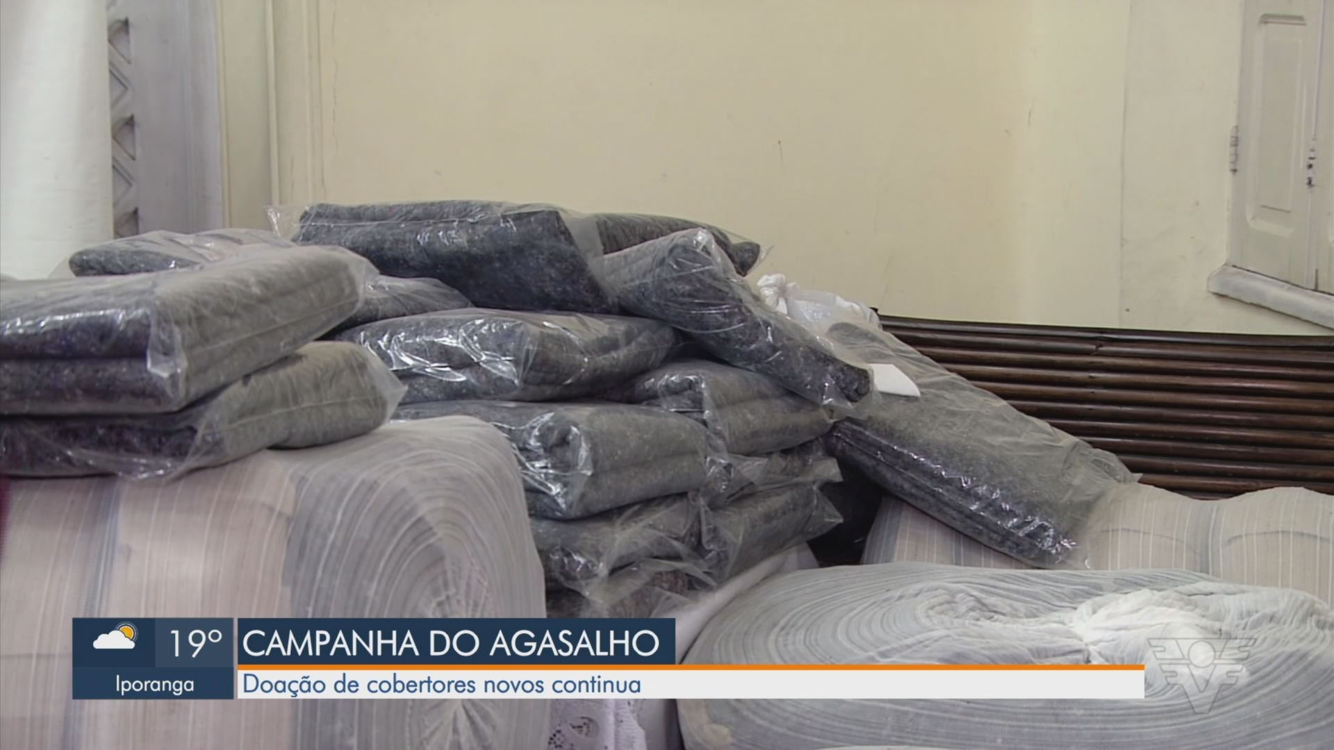 Campanha do Agasalho: PM da Bahia recebe roupas, sapatos e cobertores para doar a necessitados