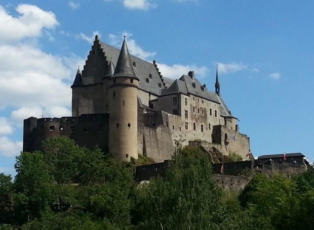Castelo Vianden, Luxemburgo (Foto: Visit Luxembourg/ Reprodução)