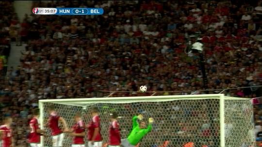 Goleiro da calça de moletom ganha votação de melhor defesa na Uefa
