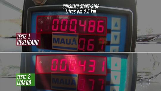 Teste mostra economia no combustível com sistema start-stop