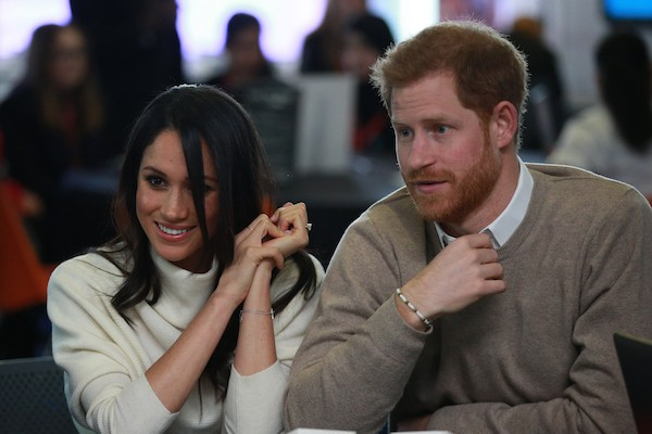 O Príncipe Harry e a atriz e duquesa Meghan Markle  (Foto: Getty Images)
