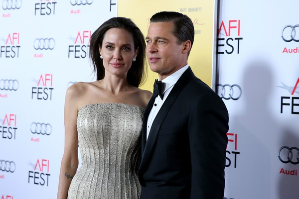 Angelina Jolie and Brad Pitt (picture: Getty Images)