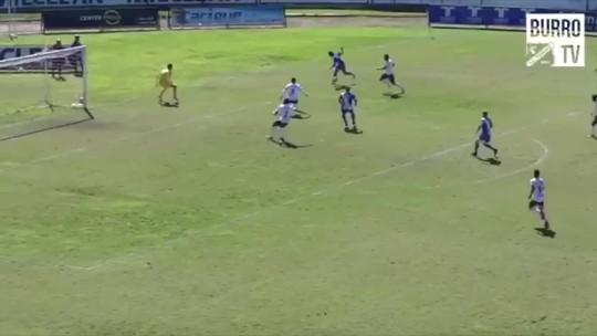 Veja o gol da vitória do Taubaté sobre o Juventus na Copa Paulista