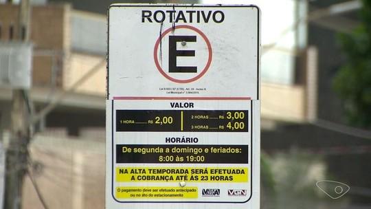 Suspensão do estacionamento rotativo em Guarapari causa confusão