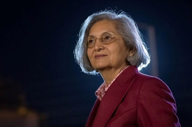 Ma Anand Sheela no documentário 'Em busca de Sheela' (Foto: Netflix)