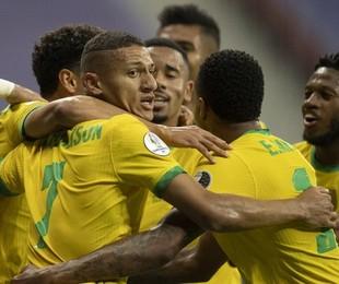 Brasil e Venezuela | Lucas Figueiredo / CBF