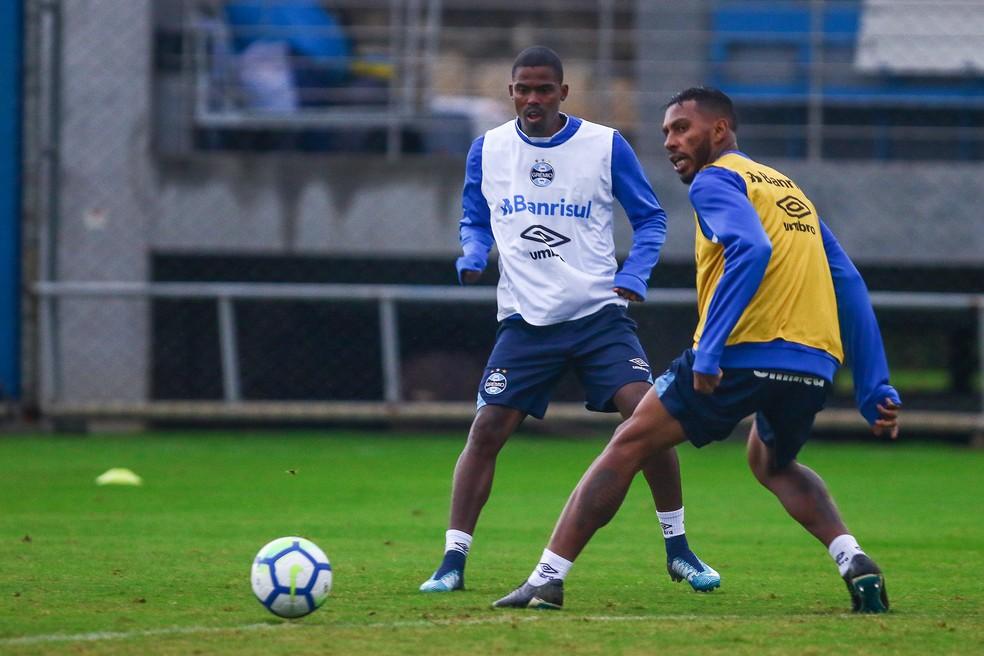 Maicosuel não agradou no Grêmio (Foto: Lucas Uebel / Grêmio, DVG)