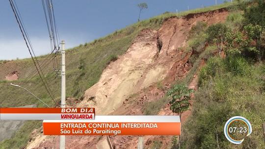 Interdição de acesso causa transtornos em São Luiz do Paraitinga