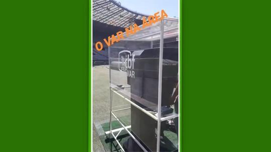 Pela 1ª vez, VAR será utilizado no Mineirão: equipamento é testado na véspera do jogo