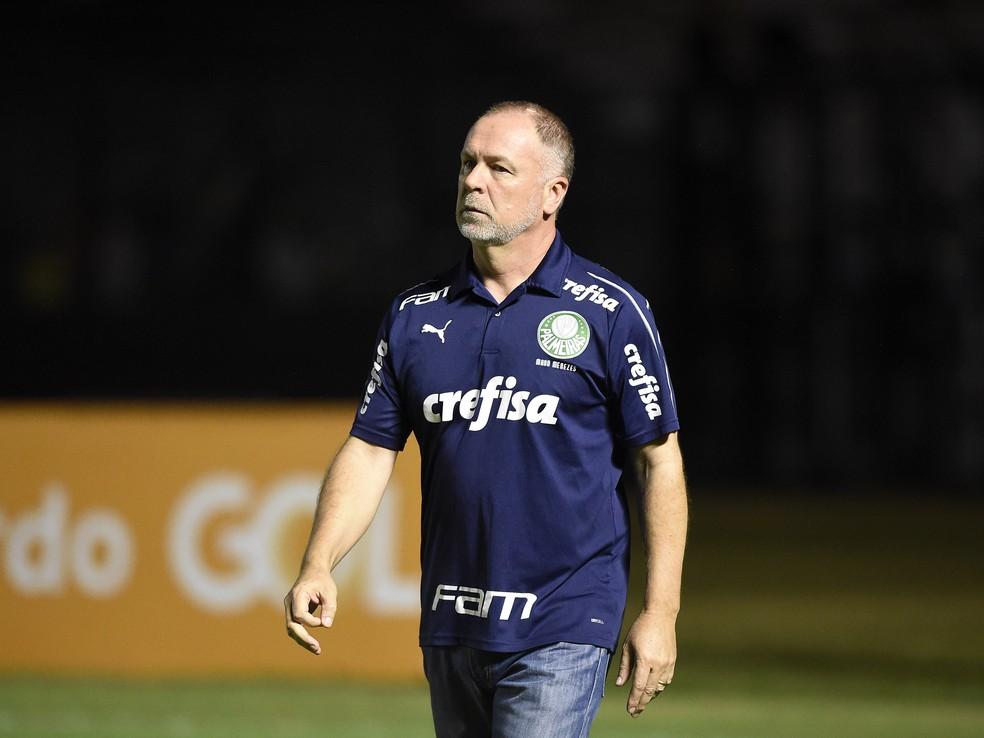 Mano Menezes entende que o Palmeiras deve se concentrar apenas em si nesta reta final — Foto: André Durão