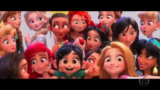 Princesas mais famosas do cinema fazem participação juntas em novo filme da Disney
