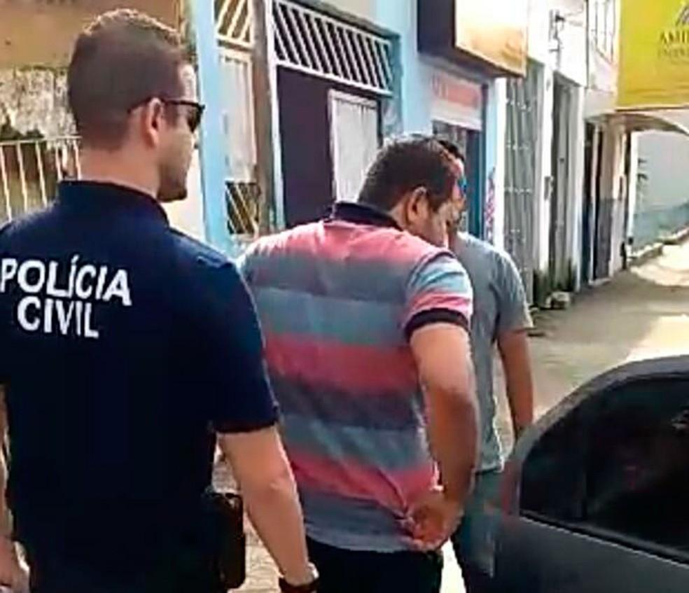 Ex-candidato a vereador é preso na BA suspeito de aplicar golpes em mais de 40 pessoas (Foto: Divulgação/Polícia Civil)
