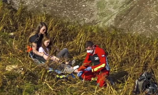 Mochila Voadora da Gravity usada por paramédicos em salvamento