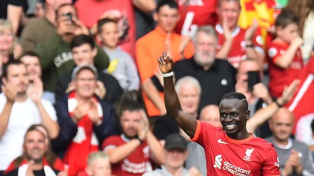Contra o Crystal Palace, Sadio Mané chega a 100 gols contra o Liverpool