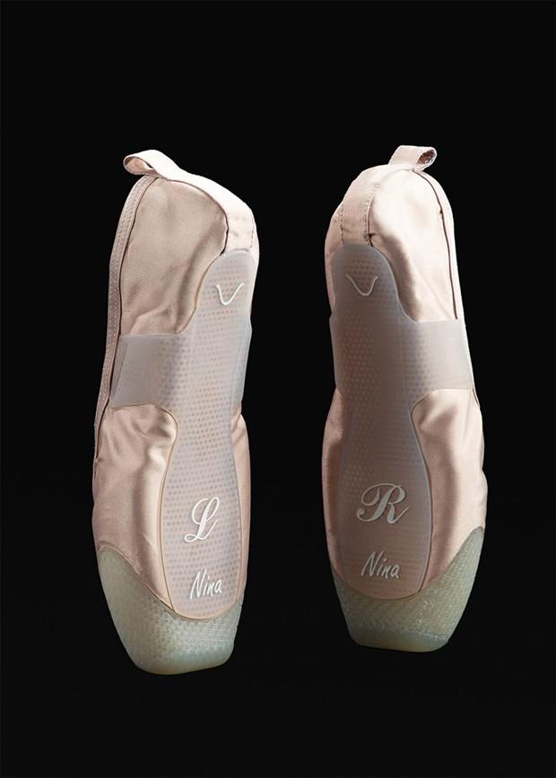 Sapatilha impressa em 3D não machuca pés de bailarinas (Foto: Divulgação)