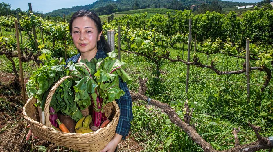 Marcela Kakuko Fujitani é dona da Ecoquinta Fujitani (Foto: Jornal de Negócios do Sebrae -SP)