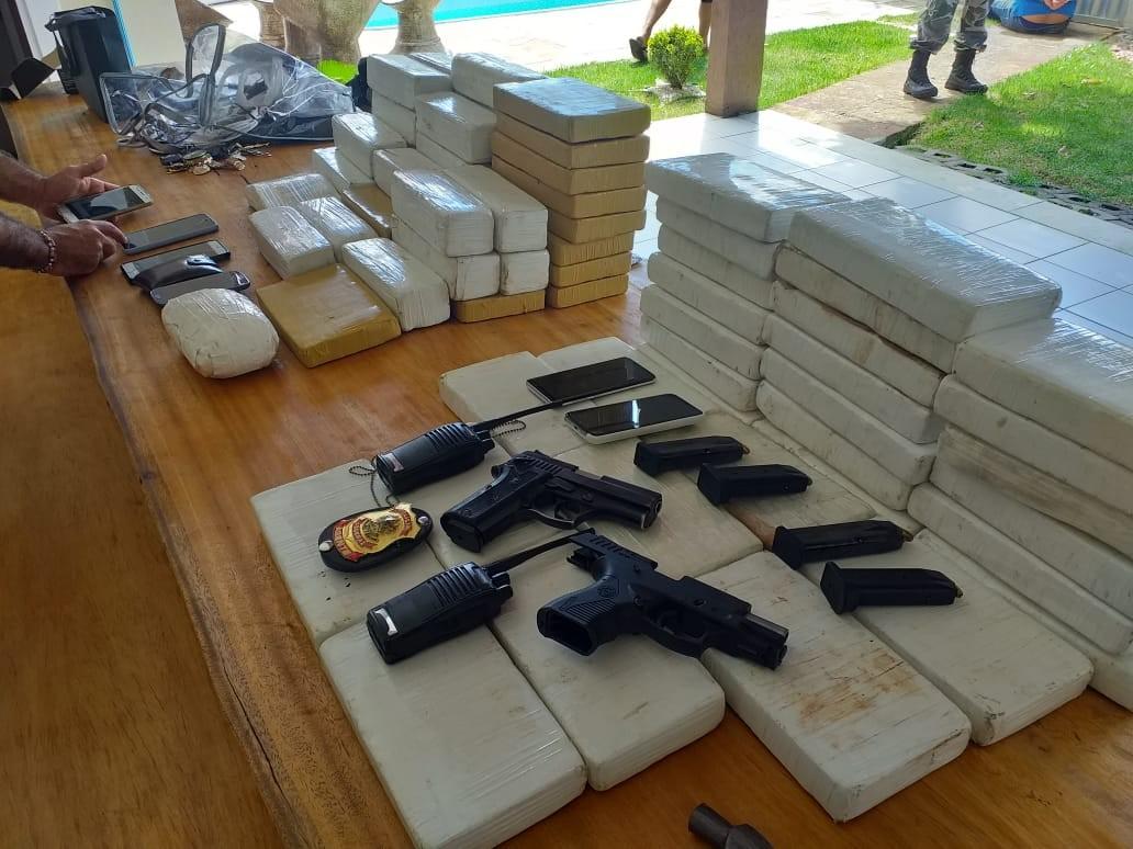 Operação da PF com apoio do Bope apreende 80kg de pasta base de cocaína no RN - Noticias