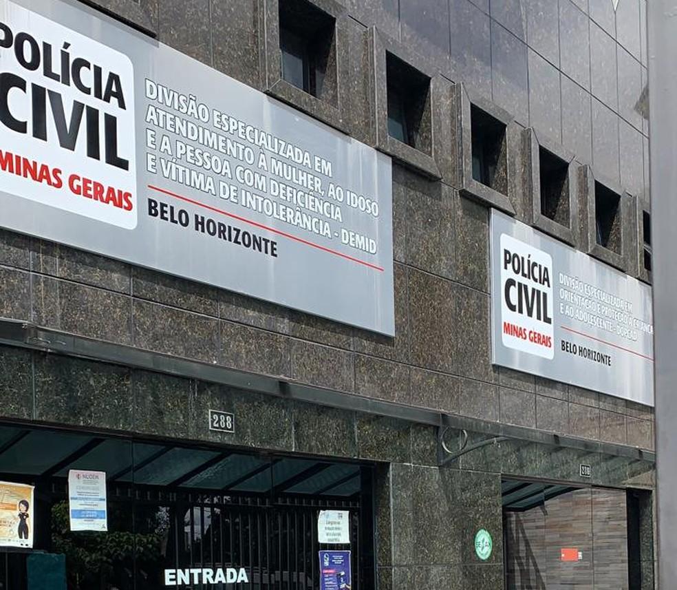 Delegacia Especializada de Atendimento à Mulher fica na Avenida Barbacena, em BH — Foto: Manoela Borges/TV Globo