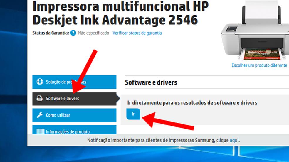 Como baixar e instalar o driver da impressora HP Deskjet