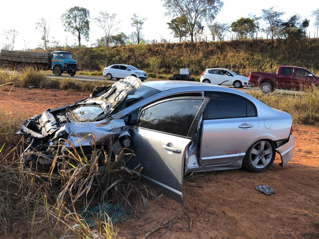 Motorista que teria causado acidente com mortes na BR-262, em Nova Serrana, é detido pela PRF