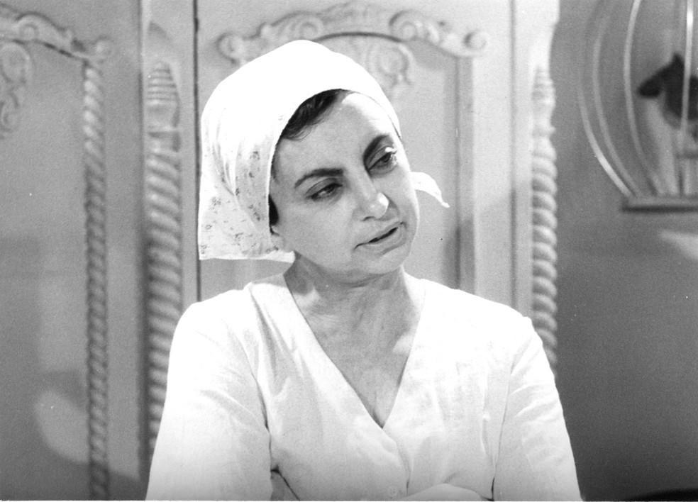 Beatriz Segall na novela 'Champagne', de 1983 (Foto: Acervo TV Globo)