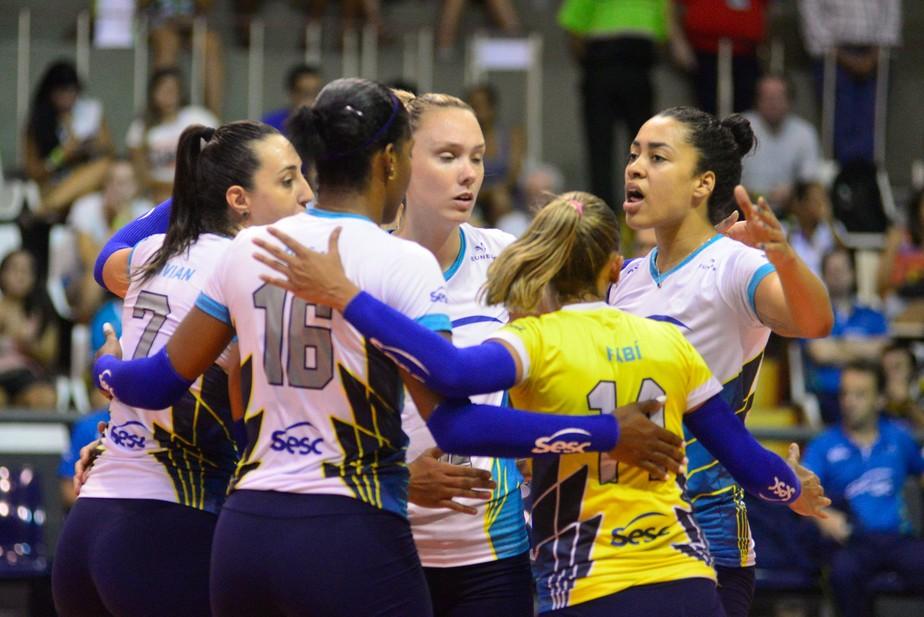 Semifinais definidas: Praia Clube, Minas, Osasco e Sesc/RJ avançam na Copa Brasil
