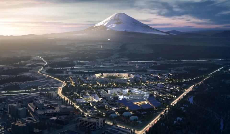 Toyota apresentou a sua cidade futurista (Foto: Divulgação)