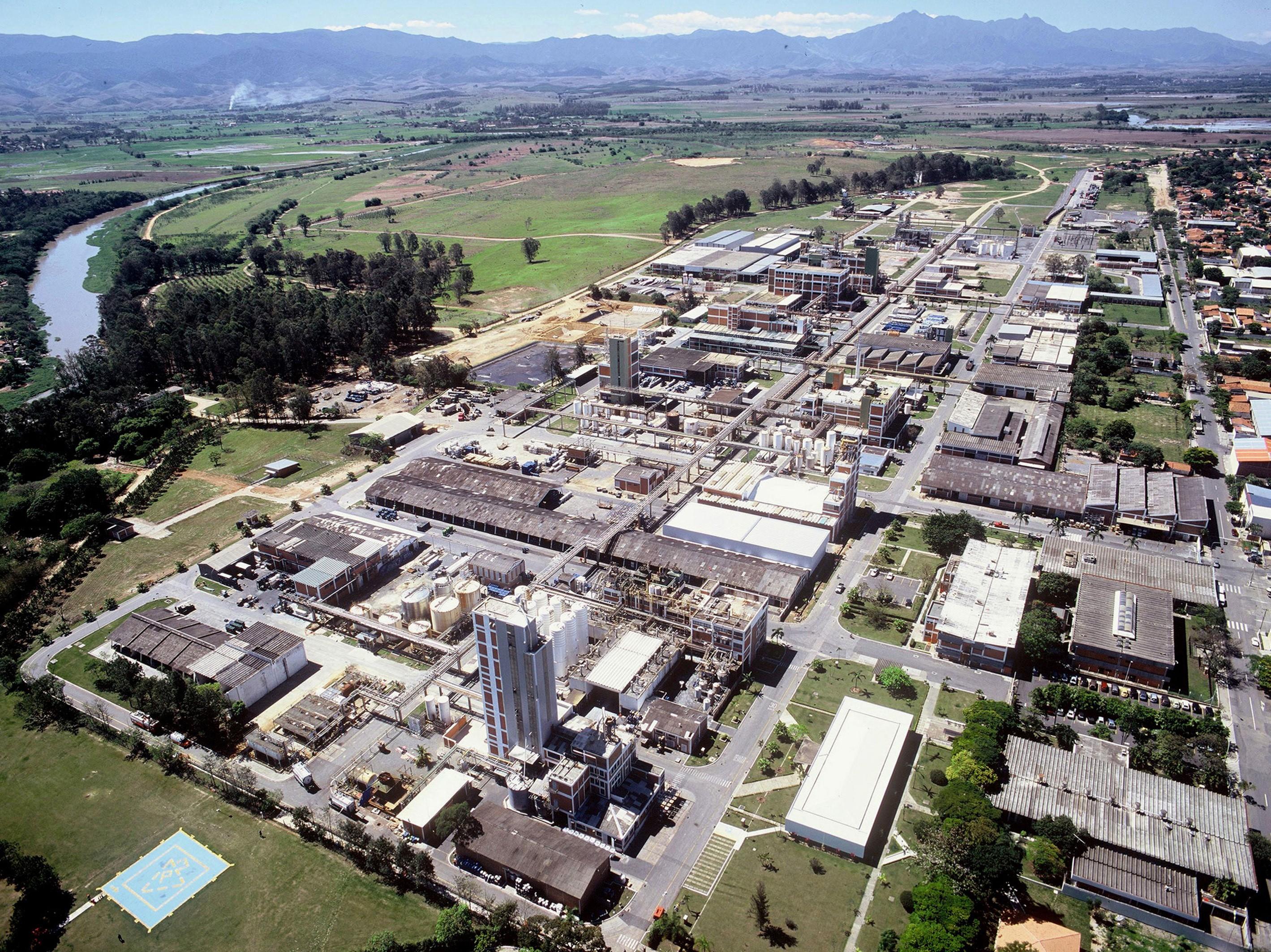 economia_industria_basf_guaratingueta (Foto: Divulgação/Basf)