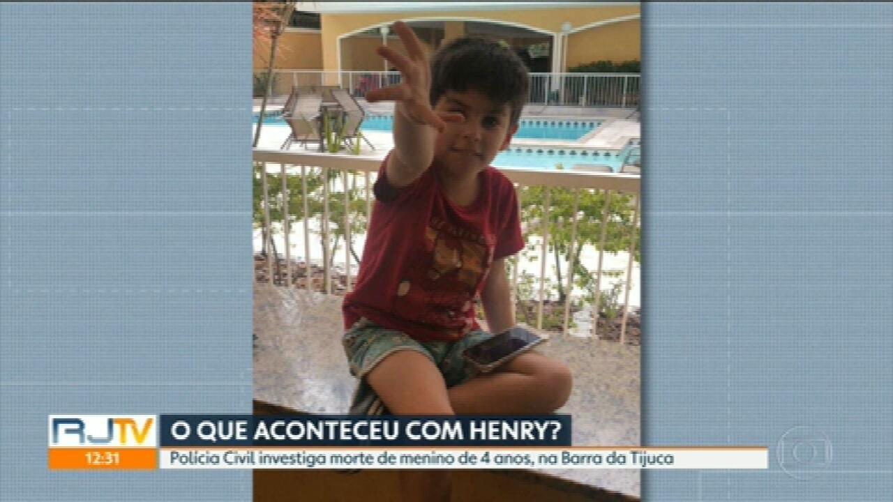 Polícia Civil investiga morte misteriosa do menino Henry Borel