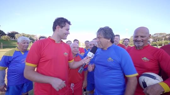 Pedro Leonardo conhece um grupo que reúne há 40 anos para jogar futebol