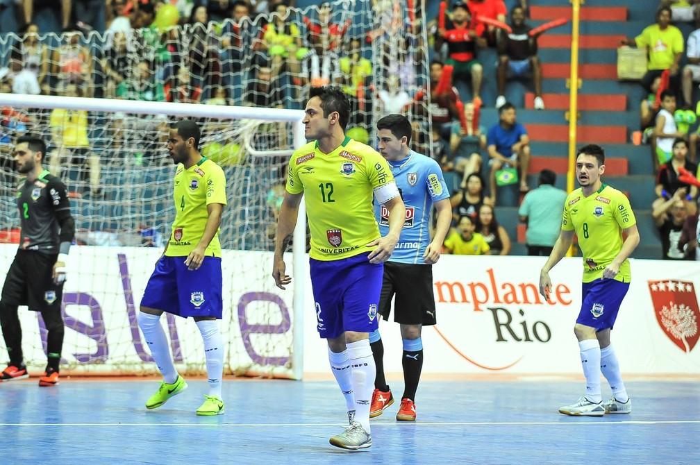 ... Falcão disputará mais uma edição do Grand Prix de Futsal — Foto   Ricardo Artifon  f2864e4dce7f1