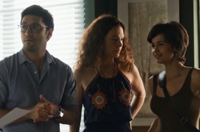 Ionan, Selma e Maura em 'Segundo Sol' (Foto: Reprodução)