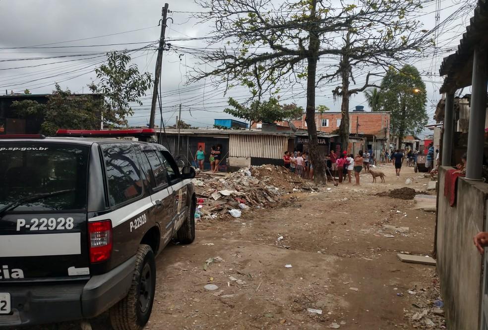 Bruno foi preso na Vila Margarida, em São Vicente, SP — Foto: Divulgação