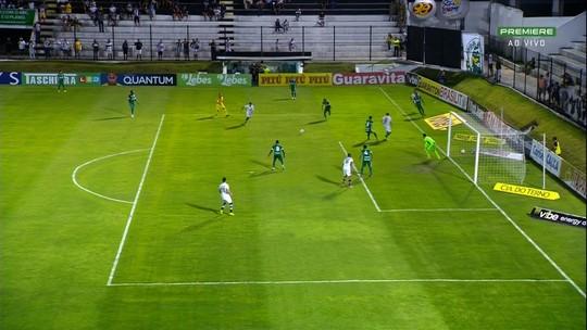 Goiás suporta pressão, vence ABC com gol de Nathan no fim e dorme fora do Z-4