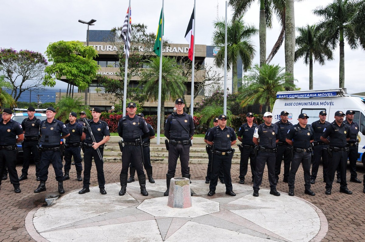 Praia Grande aumenta efetivo de Guardas Civis Municipais - G1