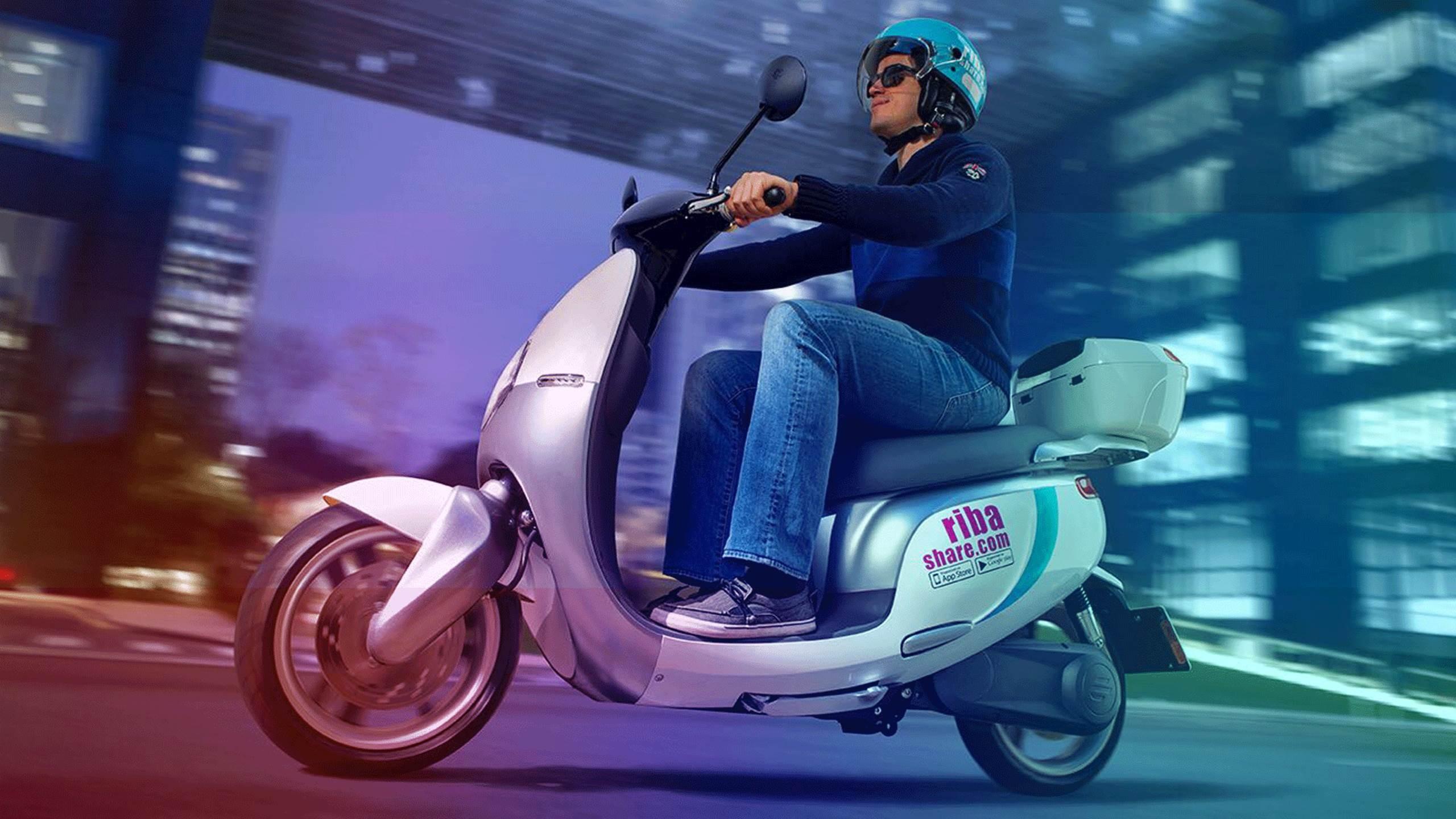 A scooter da Riba Share (Foto: Divulgação)