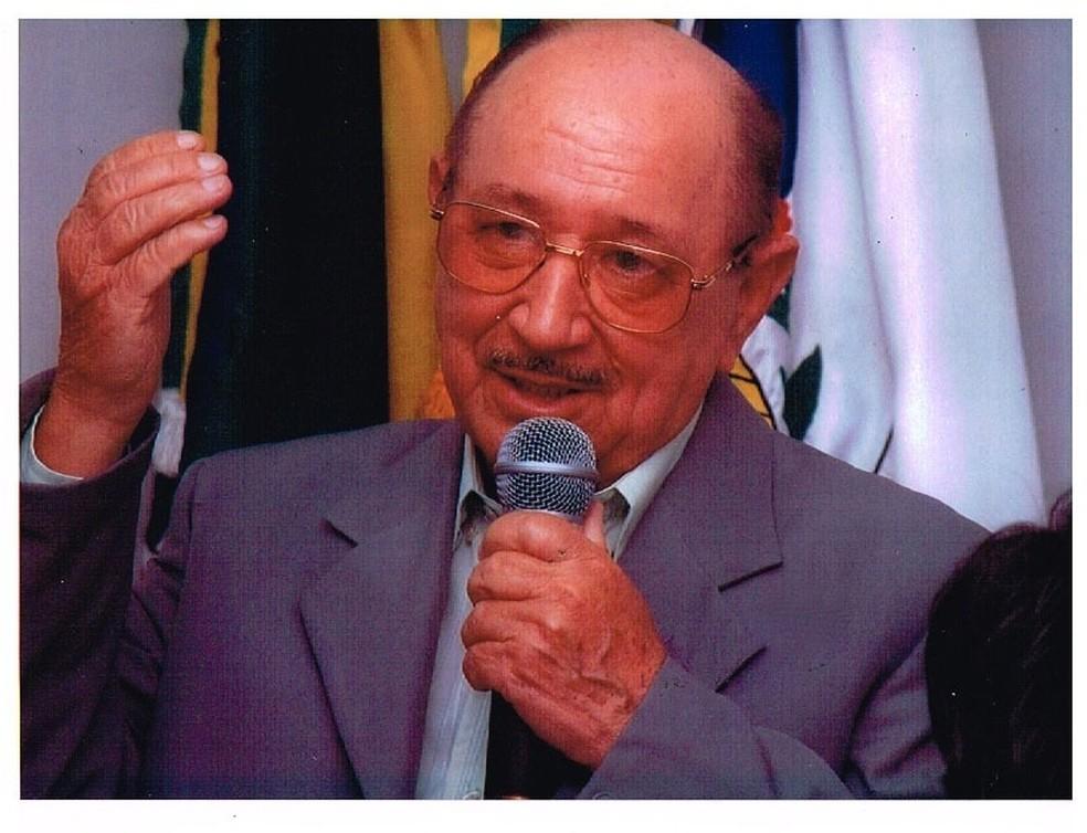 Antônio Reis Franco, ex-vice-prefeito de Pinheiral — Foto: Redes Sociais